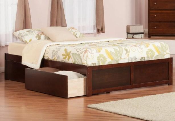Wrington Storage Platform Bed Color: Espresso, Size: Twin