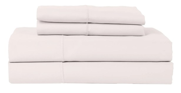 Perthshire Platinum 4 Piece 800 Thread Count Egyptian Quality Cotton Sateen Sheet Set Color: Gray, Size: California King