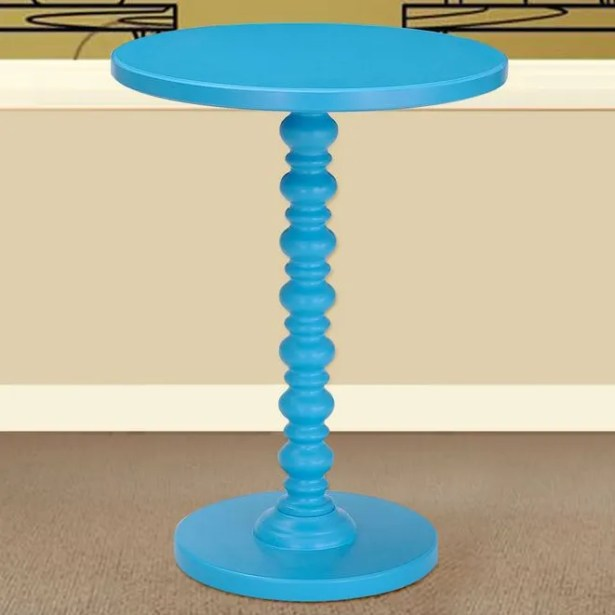 Bistro Table Finish: Sky Blue