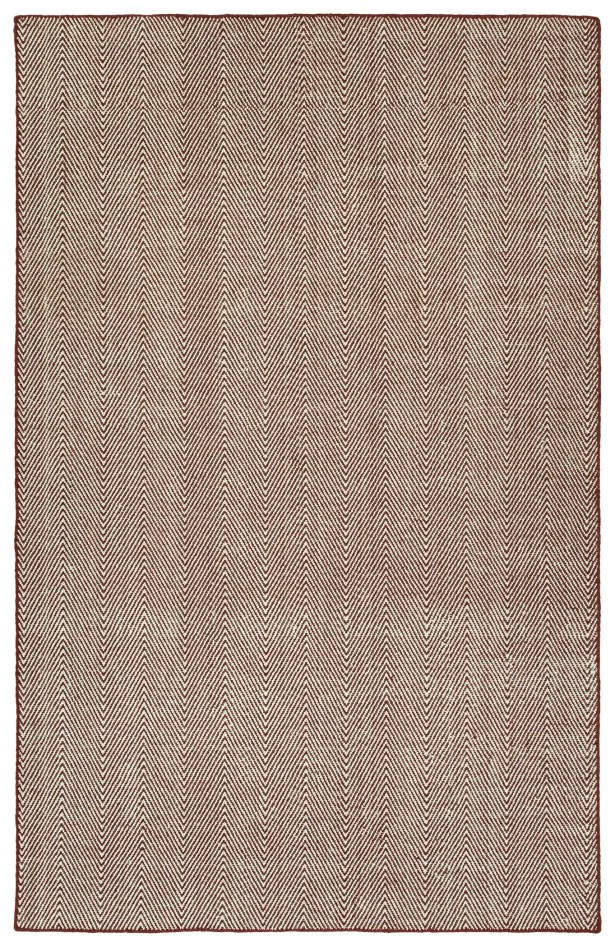 Buell Hand Woven Burgundy Indoor/Outdoor Area Rug Rug Size: Rectangle 8' x 10'