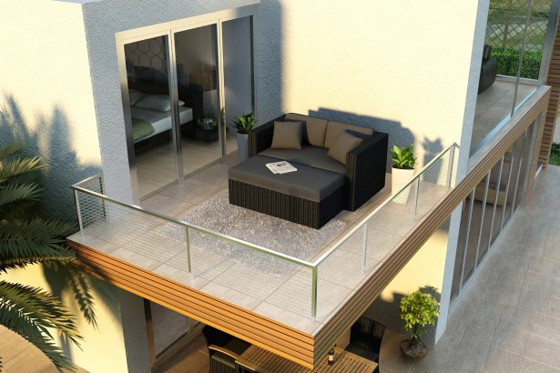 Urbana Patio Daybed with Cushions Color: Cast Silver