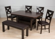 Dining Table Sets 6 Piece Solid Wood Dining Set