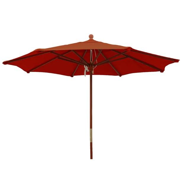 9' Market Umbrella Color: Brick