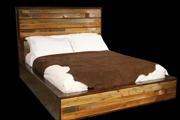Urban Rustic Bed Size: Queen