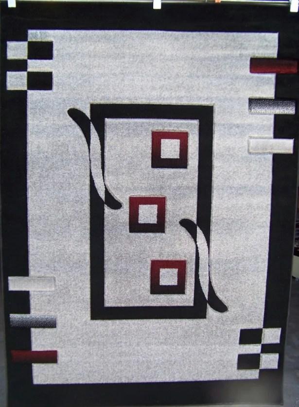 Avalon Modern Gray Area Rug Rug Size: 4' x 6'