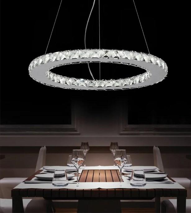 Bacon LED 18-Light Crystal Chandelier