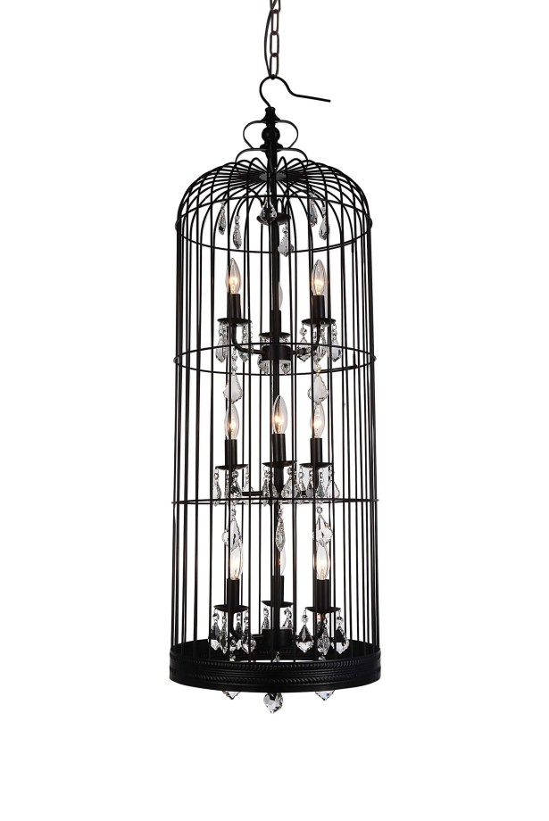 Vortex 9-Light Foyer Pendant