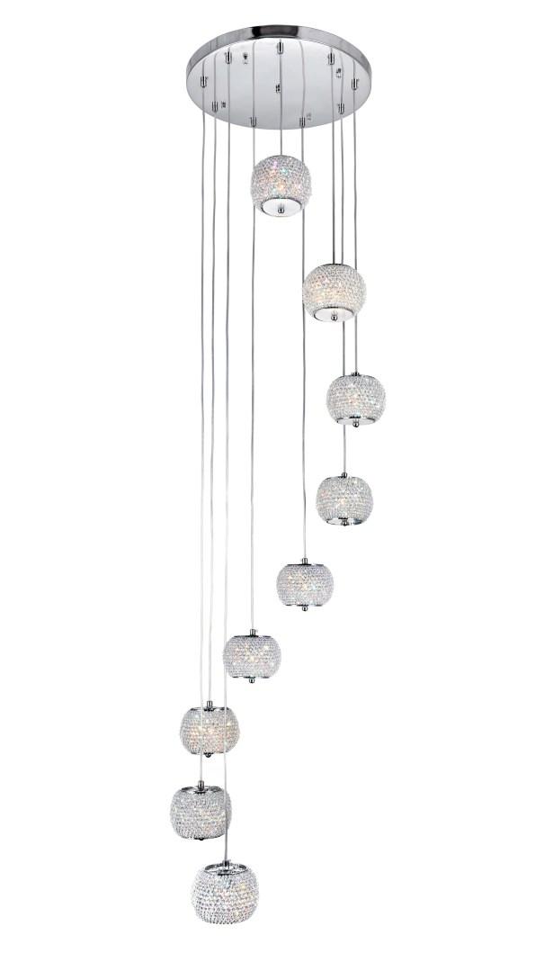 Tiffany 9-Light Cluster Pendant
