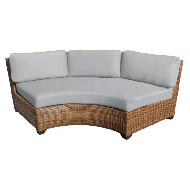 East Village Sofa with Cushions Color: Gray