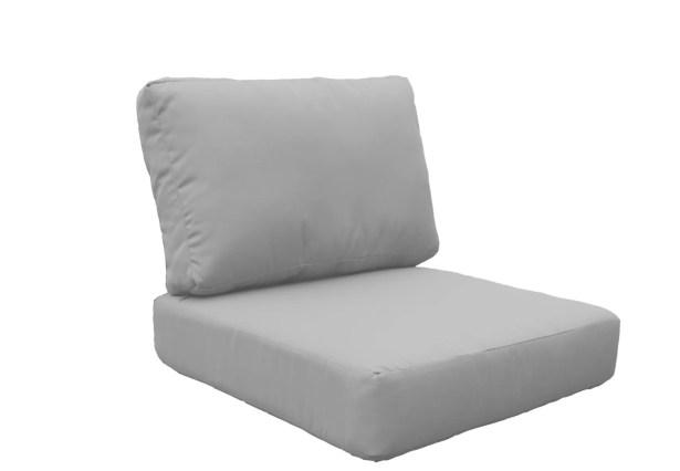 Fairmont 6 Piece Outdoor Cushion Set Fabric: Gray