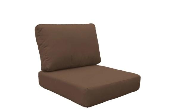 Coast 10 Piece Outdoor�Lounge Chair Cushion Set Fabric: Cocoa