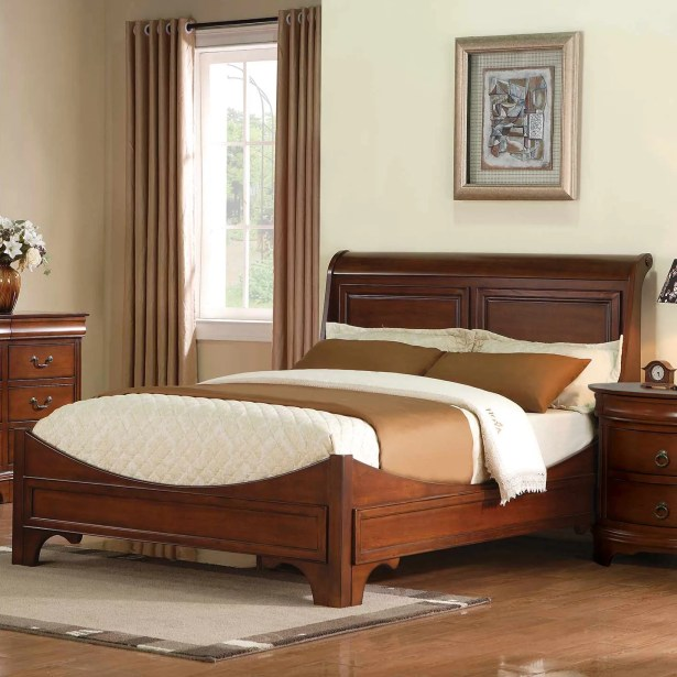 Riegel Platform Bed Color: Espresso, Size: Full