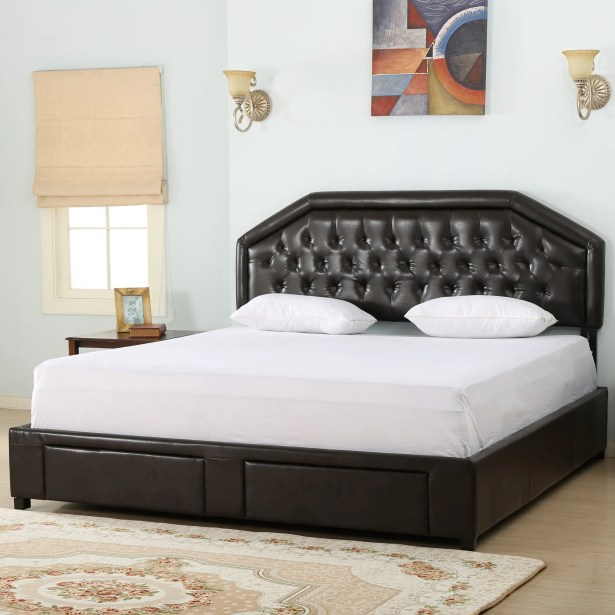 Beaumont Upholstered Storage Panel Bed Size: California King
