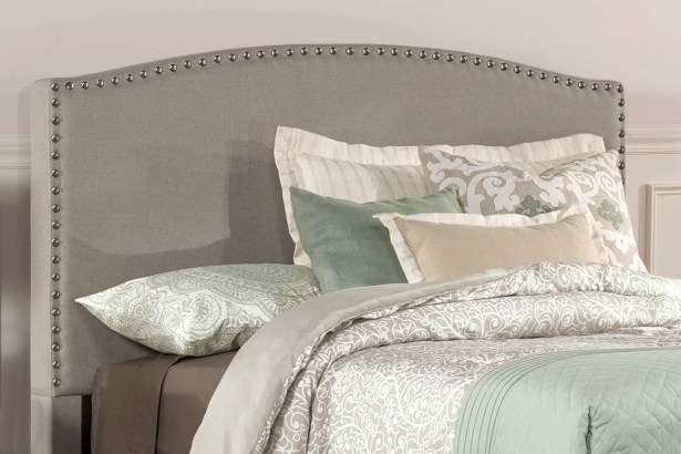 Granger Upholstered Panel Headboard Size: Queen, Upholstery: Gray