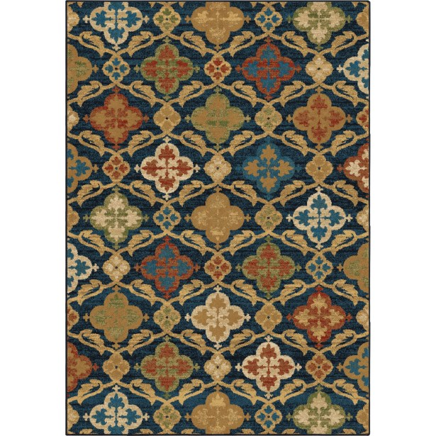 Moille Area Rug Rug Size: 5'3