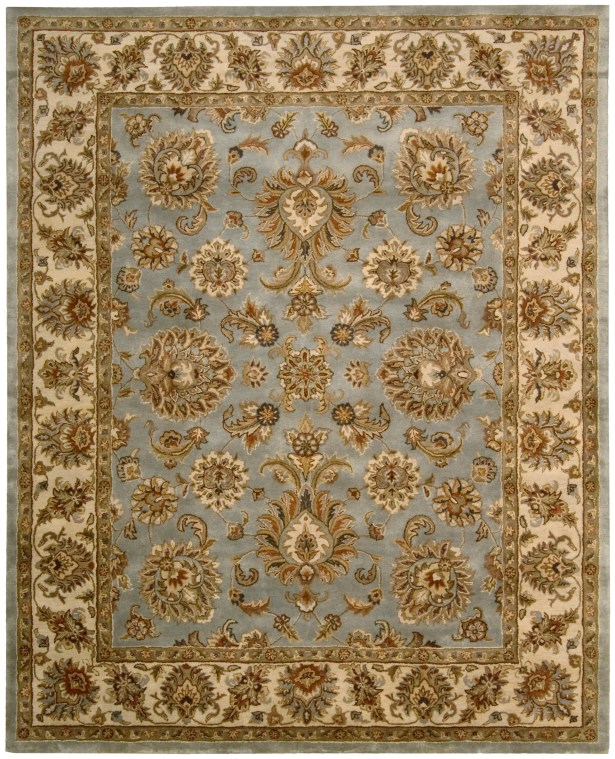 Delaware Light Blue Rug Rug Size: Rectangle 3'9