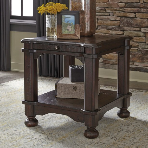 Sharonville End Table with Storage