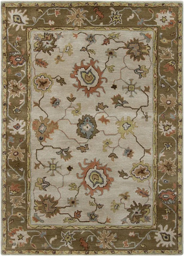 Bartz Grey/Brown Area Rug Rug Size: Rectangle 9' x 13'
