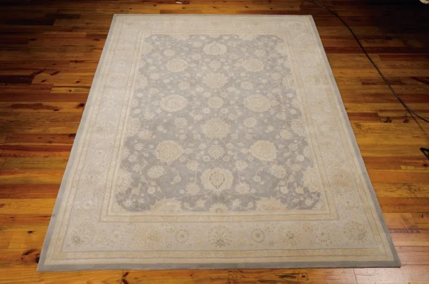 Morristown Hand Woven Wool Gray/Ivory Indoor Area Rug Rug Size: Rectangle 5'6