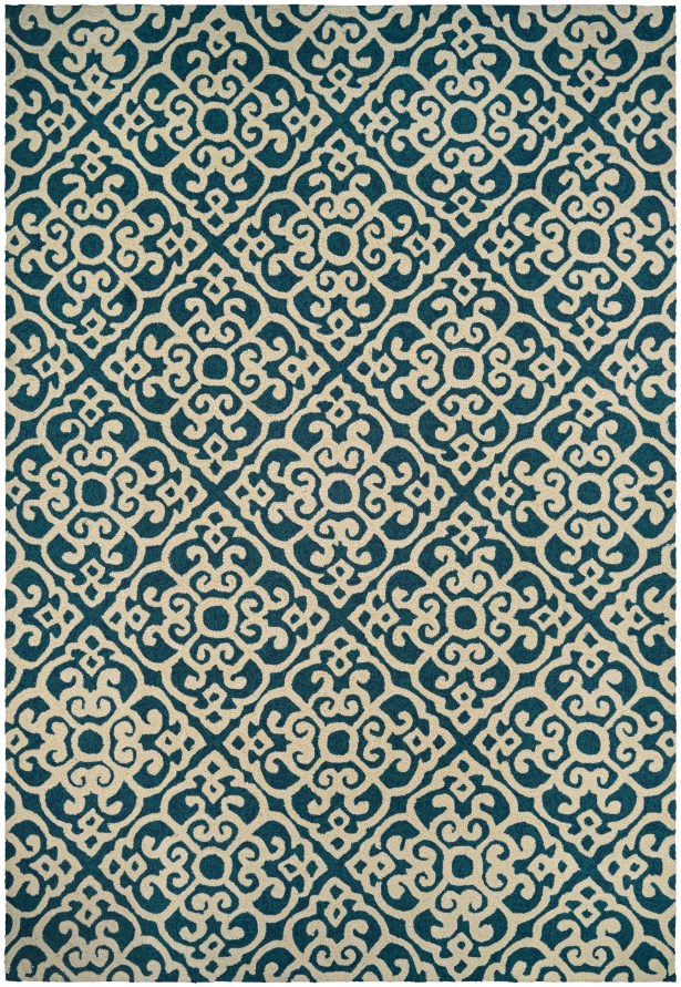 Union Hand-Knotted Indoor/Outdoor Area Rug Rug Size: Rectangle 5'6