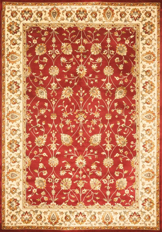 Beecroft Red Area Rug Rug Size: 7'10