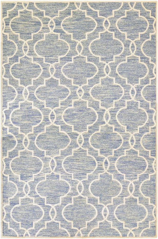 Willisville Hand-Woven Blue Area Rug Rug Size: Rectangle 6' x 11'