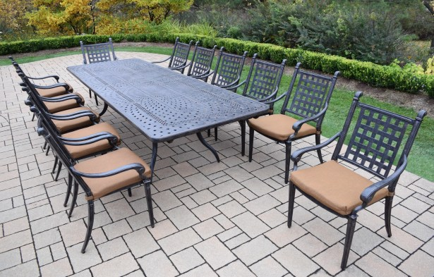 Vandyne 13 Piece Dining Set with Cushions