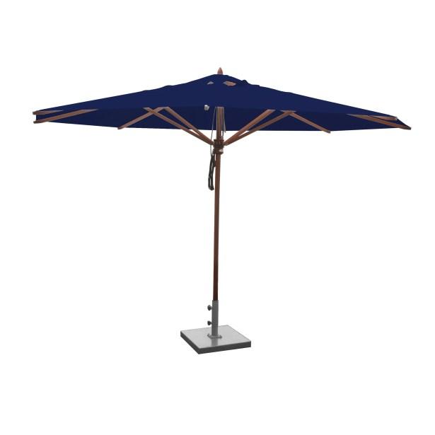 Samuel 13' Market Umbrella Fabric: Ocean Blue