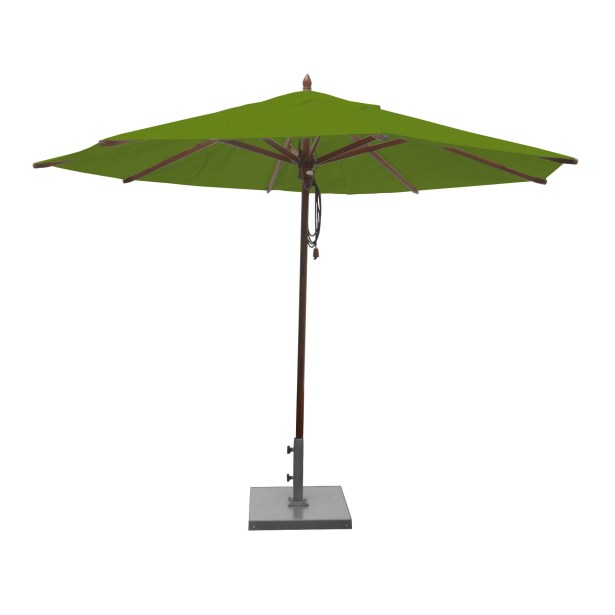 Shepley 11' Market Umbrella Fabric: Olive Green