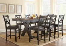 Dining Table Sets Amsterdam 9 Piece Counter Height Dining Set