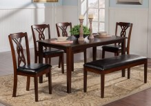 Dining Table Sets Provo 6 Piece Dining Set