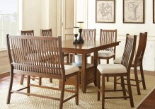 Dining Table Sets Quaker 8 Piece Solid Wood Dining Set
