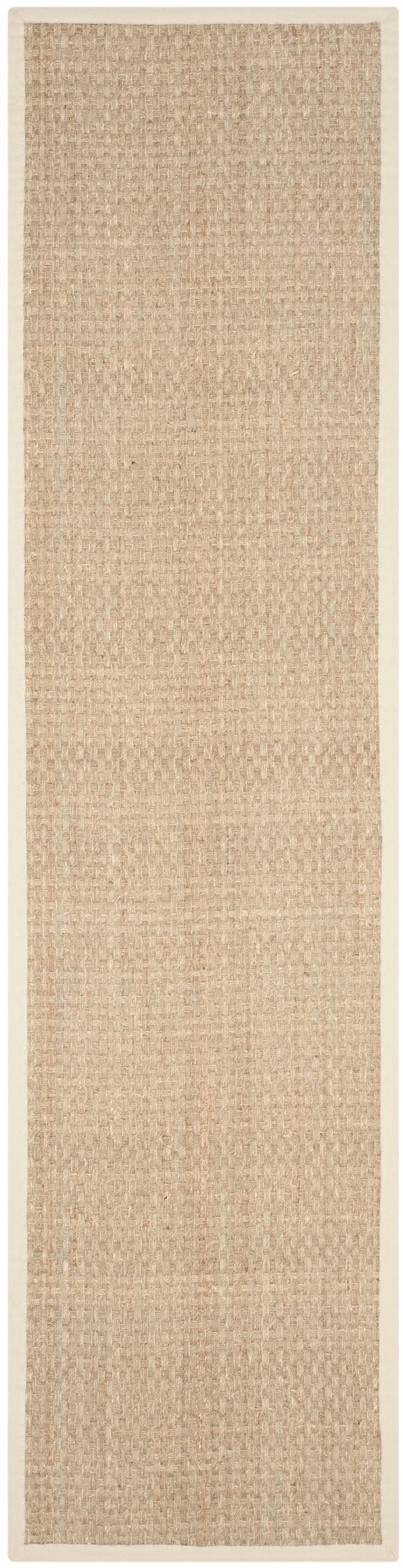 Catherine Natural/Ivory Area Rug Rug Size: Runner 2'6