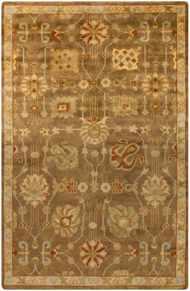 Moffet Brown/Tan Area Rug Rug Size: Rectangle 2' x 3'
