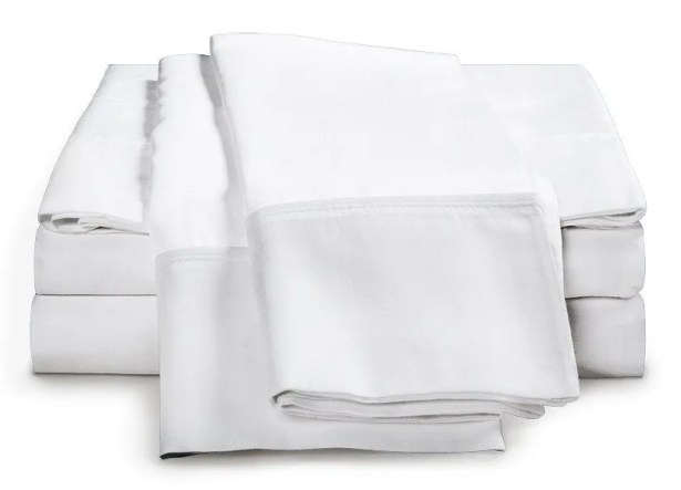 Schumann 300 Thread Count Sheet Set Color: White, Size: Queen