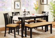 Dining Table Sets Oneill 6 Piece Upholstered Dining Set