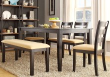 Dining Table Sets Oneill Modern 6 Piece Upholstered Dining Set