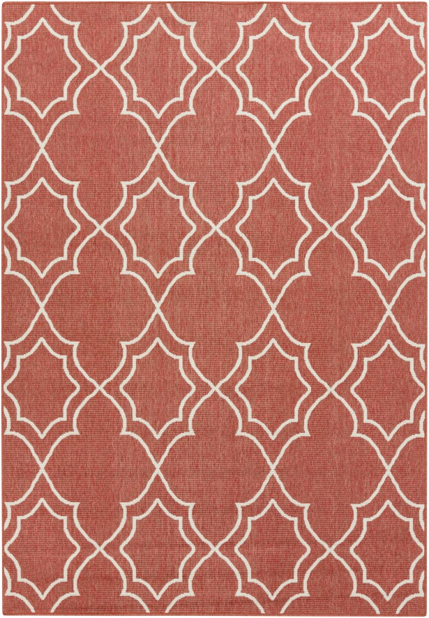 Amato Red Indoor/Outdoor Area Rug Rug Size: Rectangle 6' x 9'