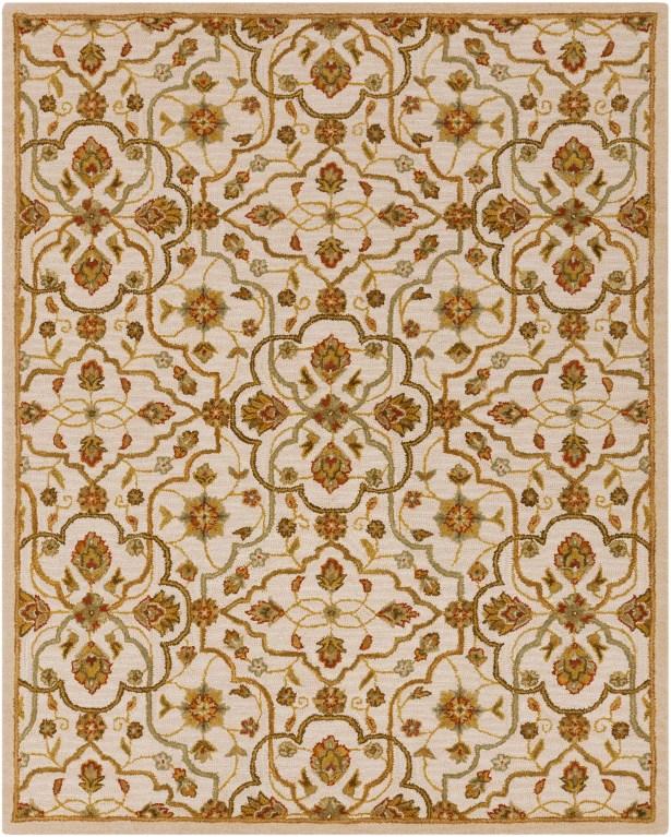 Burwood Parchment Rug Rug Size: Rectangle 8' x 10'