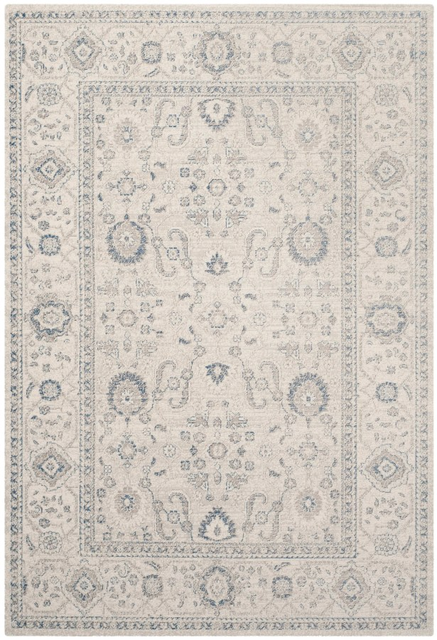 Nielsen Gray/Ivory Area Rug Rug Size: Rectangle 11' x 15'