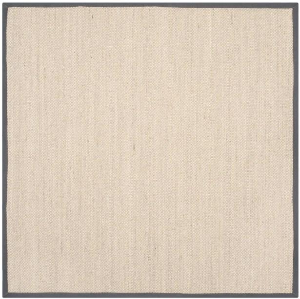 MonadnockBeige/Gray Area Rug Rug Size: Square 10'