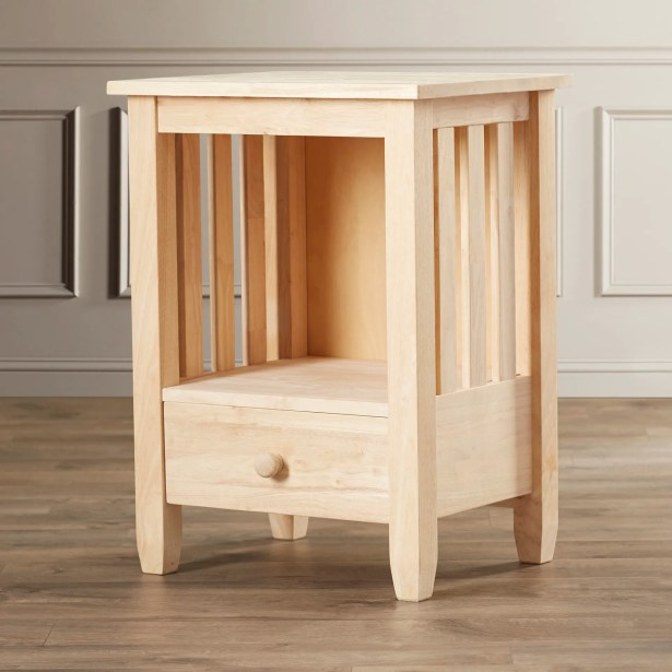 Middlebury Wood Mission End Table