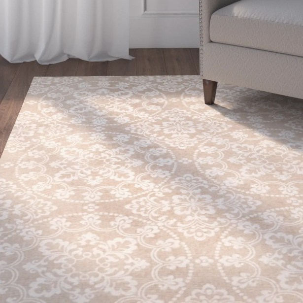Charing Cross Hand-Loomed Taupe / Natural Area Rug Rug Size: Rectangle 8' x 10'