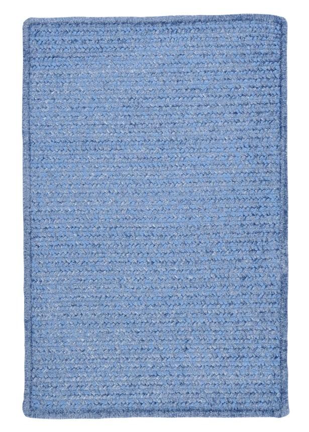 Gibbons Petal Blue Indoor/Outdoor Area Rug Rug Size: Rectangle 2' x 3'