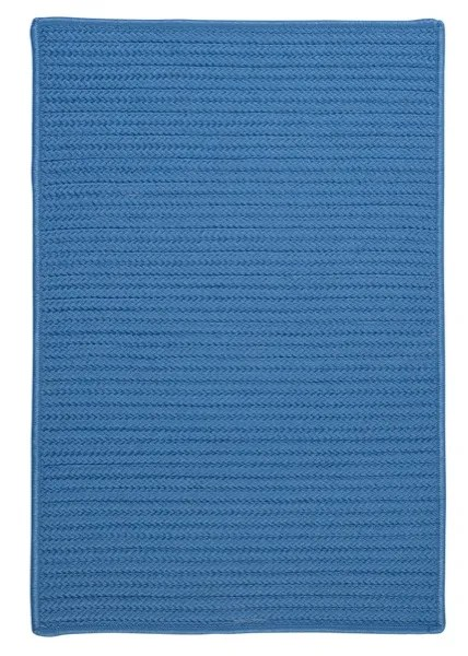 Glasgow Solid Blue Indoor/Outdoor Area Rug Rug Size: Square 8'