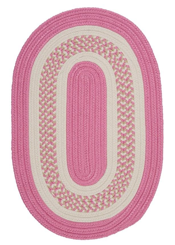 Germain Pink/Beige Indoor/Outdoor Area Rug Rug Size: Oval Runner 2' x 6'