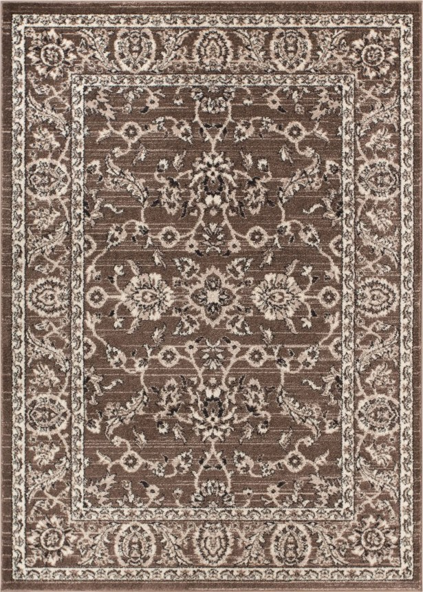 Giles Traditional Natural Area Rug Rug Size: 7'10