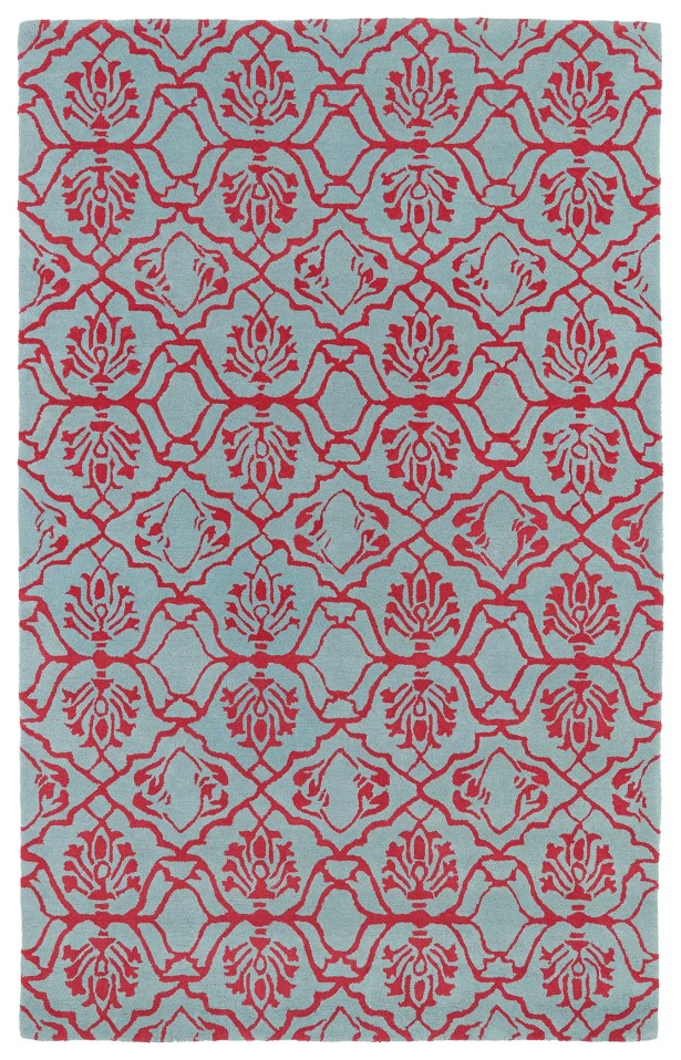 Corine Pink Area Rug Rug Size: Rectangle 8' x 11'