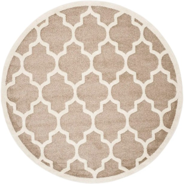 Carman Beige Indoor/Outdoor Area Rug Rug Size: Rectangle 5' X 8'