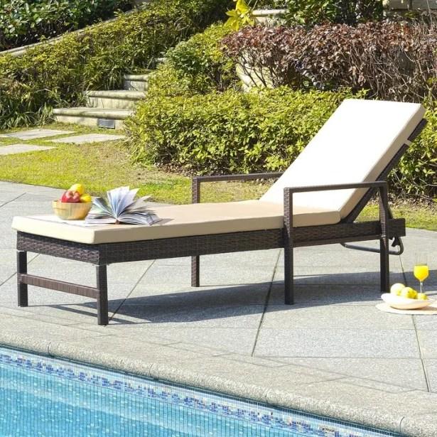 Bourneville Sun Chaise Lounge